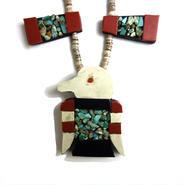 Sant Domingo Turquoise Coral Necklace