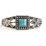 Turquoise Crossed Arrow Bracelet