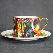 Keiichi Tanaami / Cup & Saucer #4
