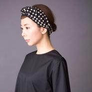 head dress dots black