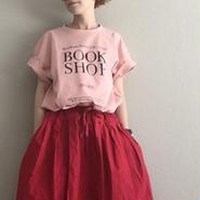 予約thomas magpie T book shop pink short
