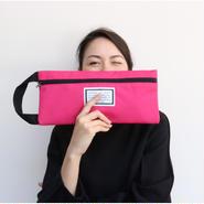 予約college bag cordura toxic pink