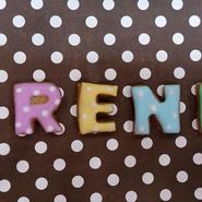 アルファベットアイシングクッキー Small ☆デコレーションケーキのトッピングにもぴったり☆