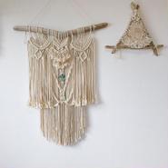 Macrame wall hanging♯37
