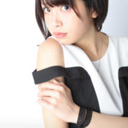 中野杏 A4写真 白黒ワンピ2