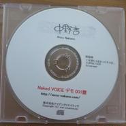 中野杏:デモCD Naked VOICE 001盤