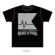 未完成リップスパークル:ミリスパTシャツ