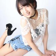 中野杏 A4写真 ショーパン2