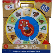 フィッシャープライス  Fisher Price Classic Farmer Says See'n Say