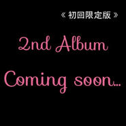 2nd Album 初回限定版 【SOLD OUT】