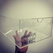 国内製アクリルスニーカーBOX <Lサイズ >