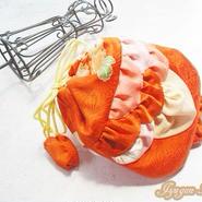 金魚の巾着(紅緋B)