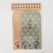 なしコケシのポチ袋2枚組 made in nashiko
