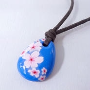 【 ネックレス 】桜 舞う