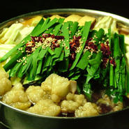 醤油もつ鍋 銅鍋(大野醤油風味)