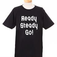 LT003 ロゴTシャツ BLACK/WHITE
