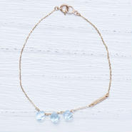 Sky Blue Topaz Bracelet(shirshi)