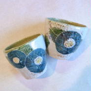 花椿(緑)フリーカップ