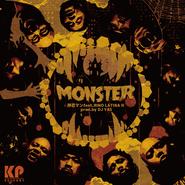 """押忍マン """"MONSTER"""" feat.RINO LATINA II / 7inch Vinyl 50 Limited Dub Plate"""