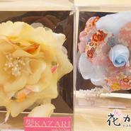髪飾り✿花モチーフ髪飾り コサージュ 0123