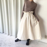 ハイウエストスカート