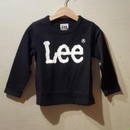 【Lee】長袖Tシャツ(BLACK)