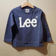 【Lee】長袖Tシャツ(NAVY)