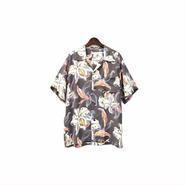 """"""" SUN SURF """" Rayon Aloha Shirt (size - M) ¥10500+tax【着画あり】"""