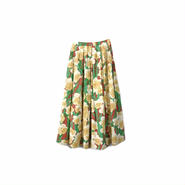 """"""" THEATRE PRODUCTS """" Floral Flared Long Skirt ¥12500+tax【着画あり】"""