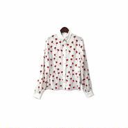 """"""" miu miu """" Floral Shirt (size - 40) ¥13500+tax【着画あり】"""