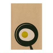 目玉焼き:デザイナーズポストカード