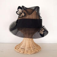 Butterfly hat [Black]