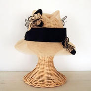 Butterfly hat [Natural]