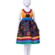 Lev.4 お家で人形のお洋服作り Dress your doll -flower-