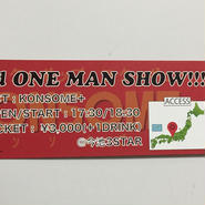 2nd ONE MAN SHOW!!!@今池3STAR(名古屋)