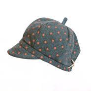帽子【タンジェリン水玉】 こども用