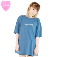 LOVE ME BIG Tee【KMT-250NV】