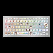 TYPE KUMATAN(Macbook専用キーボードシール)