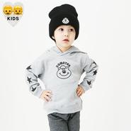 STARパーカー(KIDS)【KMT-179GY】