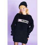 I ♥WORK BIG TOPS【KMT-122BK】