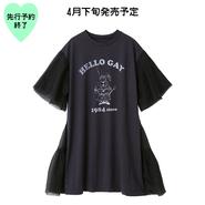 【4月下旬発売予定】チュールワンピース【KMT-205BK】