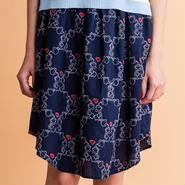 アフターヌーンティー刺繍のギャザースカート