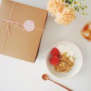 焼き菓子詰め合わせギフトセット(メープルソルトグラノーラ/コーヒーグラノーラ)