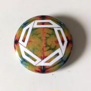 "Kvin. – "" Logo "" Button Badges (Limited Tie-Dye ver. 02)"