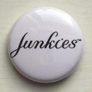 """A.W. Harvest – """" Junkies """" Button Badges"""