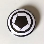 "Kvin. – "" Kamon Logo "" Button Badges"