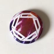"Kvin. – "" Logo "" Button Badges (Limited Tie-Dye ver. 01)"
