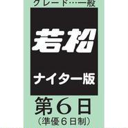 ボートレース若松 6月25日分
