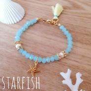 再再販♡charm bracelet♡starfish