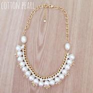 再販!cotton pearl♡ネックレス ivory
